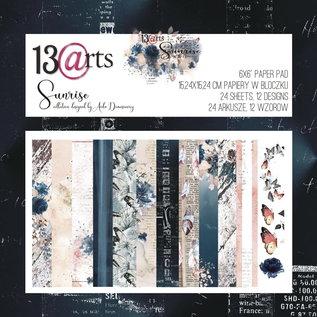 13 Arts 13 Arts Sunrise  24 sheets 6 x 6 12 designs