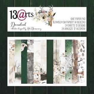 13 Arts 13 Arts Dreamland  24 sheets 6 x 6   12 designs