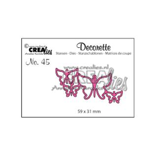 CreaLies Crealies  Decorette 45 vlinders 7