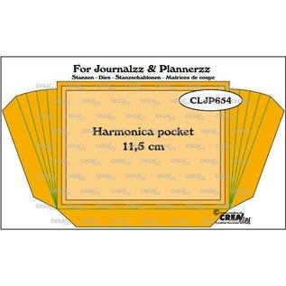 CreaLies Stansen: Harmonica pocket + 2 extra lagen