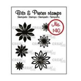 CreaLies CrealiesBits & Pieces stempel no.140 mini bloemen 17