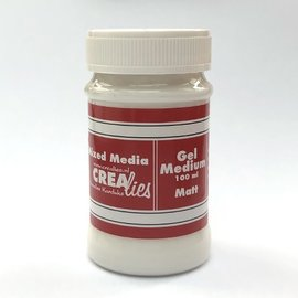 CreaLies Vrealis Gel medium mat transparant, 100 ml