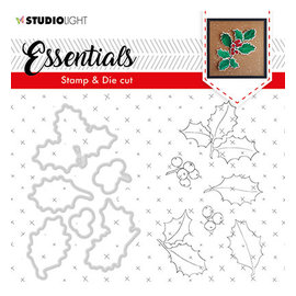 Studio Light Studio Light • Stamp & die cut Essentials nr.50 holly
