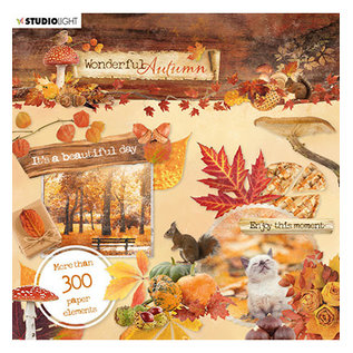 Studio Light Die Cut Book Wonderful Autumn, nr.664
