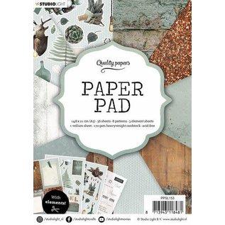 Studio Light Studio Light Paper Pad A5 36 Sheets nr.153