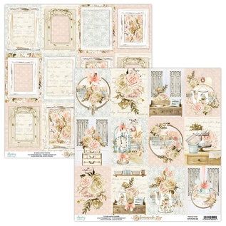 Mintay Mintay Papers - Homemade sheet cards  12x12