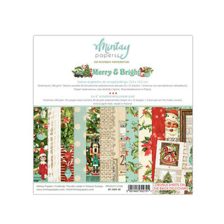 Mintay Mintay Papers  - Merry & Bright - 6x6 Paper Pad