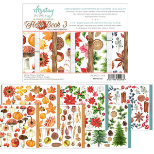 Mintay Mintay Papers - FLORA BOOK 3 - 6x8 Paper Pad