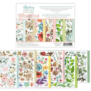 Mintay Mintay Papers - FLORA BOOK  - 6x8 Paper Pad