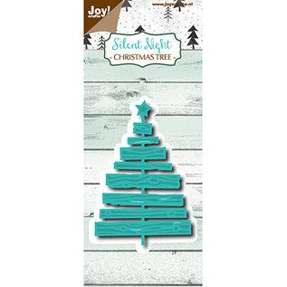 Joy! crafts Snij-embosstencil - Silent Night - Deco Kerstboom