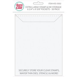 Avery Elle Stamp & Die Storage Pockets 50/Pkg   Extra  Large