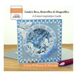 Groovi Claritystamp Linda's Bees, Butterflies & Dragonflies: A Groovi Inspiration Guide