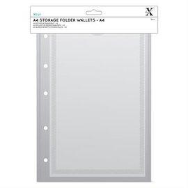XCut Xcut A4 Storage Folder Wallets - A4