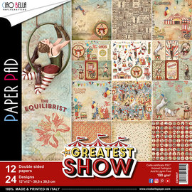 Ciao Bella Ciao Bella The Greatest Show Double-Sided Paper Pad