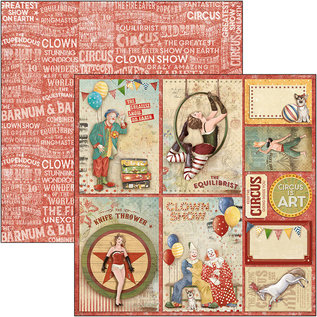 Ciao Bella Ciao Bella  Circus Cards Double-Sided