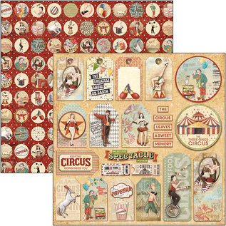 Ciao Bella Ciao Bella  Circus Tags Double-Sided