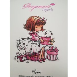 Pergamano WHIMSY POPPETS - PIPPA STAMP