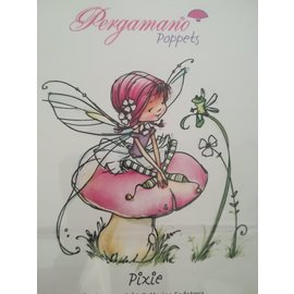 Pergamano WHIMSY POPPETS -PIXIE STAMP