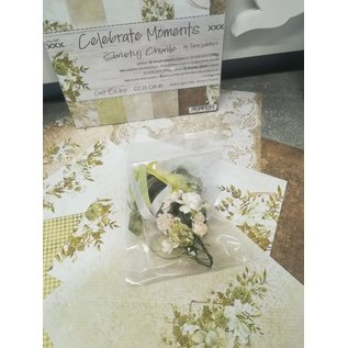 """Cart 'n Scrap Art Set lintjes en bloemen voor """"Celebrate Moments"""" serie"""
