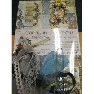 """Cart 'n Scrap Art Set lintjes en bloemen voor """"Carols in the Snow"""" serie"""