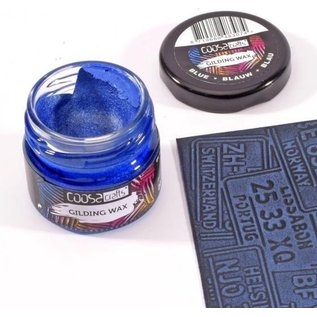 CoosaCrafts COOSA Crafts • Gilding wax Blue  20ml