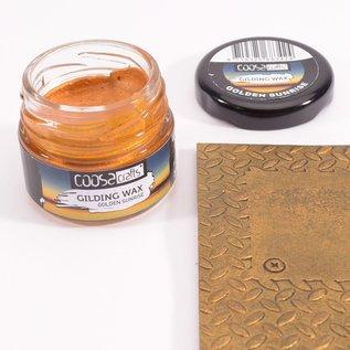 CoosaCrafts COOSA Crafts • Gilding wax Golden Sunrise  20ml