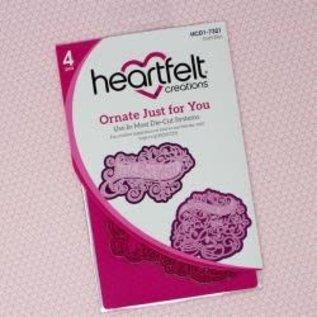 Heartfelt Dies Ornate Just For You  4st