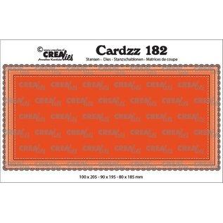 CreaLies Cardzz stansen no. 182, Slimline B