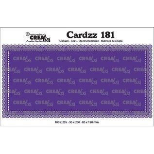CreaLies Cardzz stansen no. 181, Slimline A