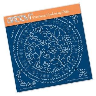 Groovi GROOVI PLATE A5 LINDA'S BUTTERFLIES