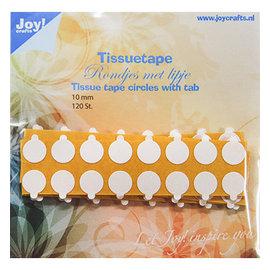 Joy! crafts Tissuetape-rondjes met treklipje - Ø15 mm
