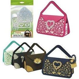 Tonic Studios Tonic Studios Dimensions Chelsea Shoulder Bag  gift box  die set