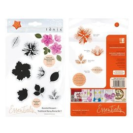 Tonic Studios Tonic Studios Essentials stamp bunched bouquet traditional spray 1
