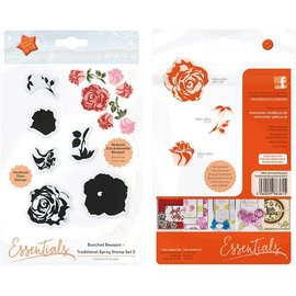 Tonic Studios Tonic Studios Essentials stamp bunched bouquet  2traditional spray 1
