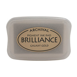 ARCHIVAL Brilliance Pigment Ink Pad Galaxy Gold