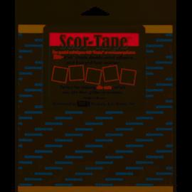 "Scor-Pal Scor-Pal Scoreband zelfklevende vellen 6""x6"""