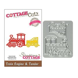Cottage Cutz Cottage Cutz - Die - Train engine & tender