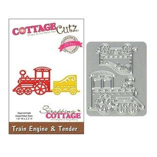 Cottage Cutz Cottage Cutz - Die - Train engine & tender