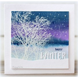 Penny Black Penny Black - Winter snow script