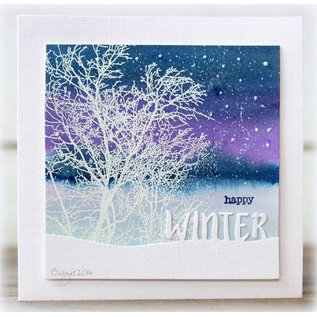 Penny Black Penny Black - Winter snow script