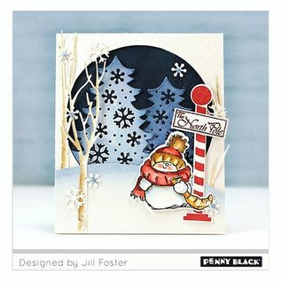 Penny Black Penny Black - North pole cut   out