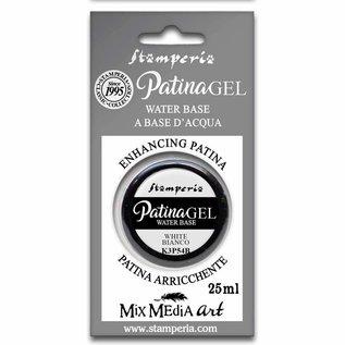 Ranger Stamperia Patina Gel Water Based White 25ml