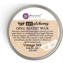 Ranger Finnabair opal wax magic Vintage Silk