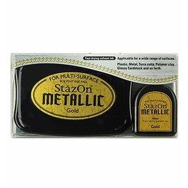 Tsukineko StazOn METALLIC Gold