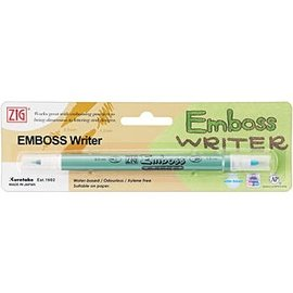Tsukineko DollarDays Zig Emboss Writer Marker, Clear