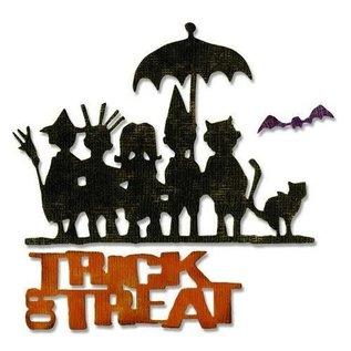 Sizzix Sizzix Thinlits Die Set - 3pk  Trick or treat