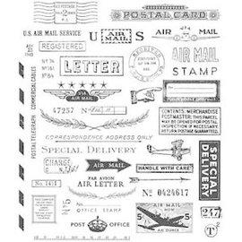 Tim Holtz Tim Holtz Cling Stamps  Correspondence