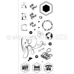 Joy! crafts Alexandra Renke  Clear Stamps-For You