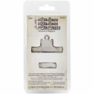 Tim Holtz Sizzix Mini clip top & bottom Movers/Shapers magnetic die