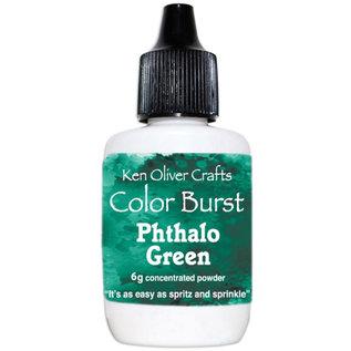 Ken Oliver Color Burst Powder 6gm Pthalo Green